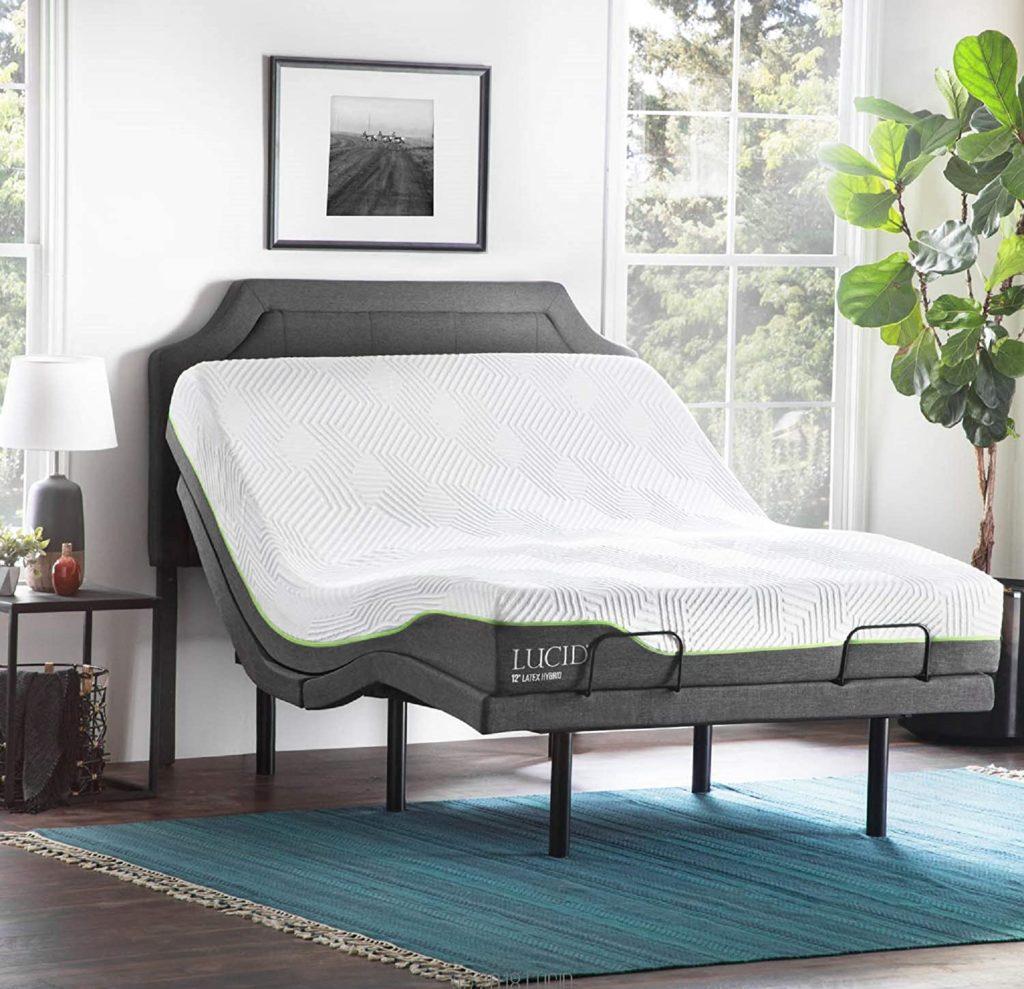 lucid ergonomic bed frame