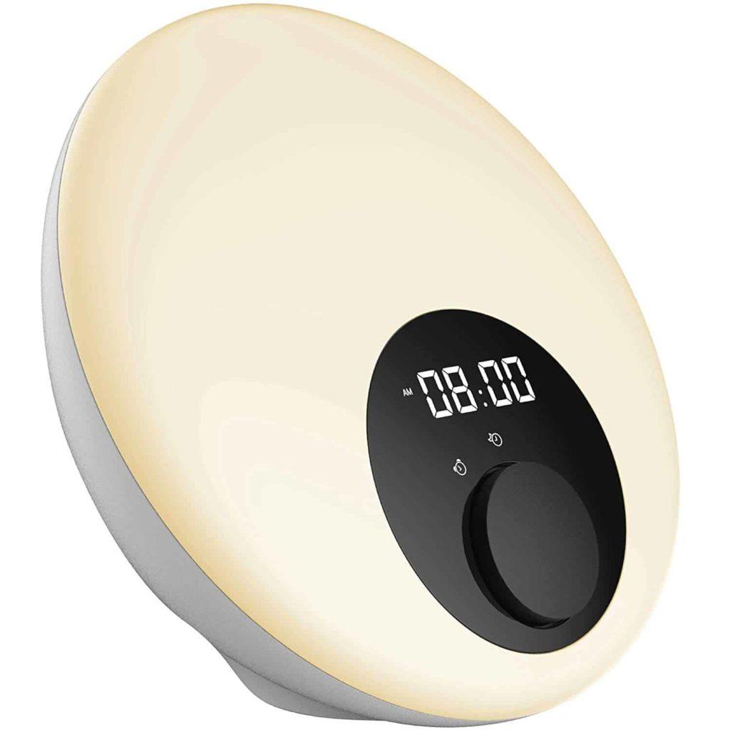 Morning Ray Wake-Up Light Alarm Clock