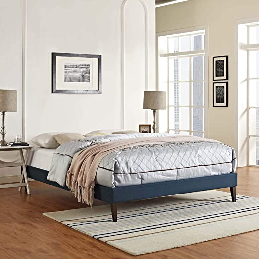 Modway Loryn Upholstered Queen Platform Bed Frame