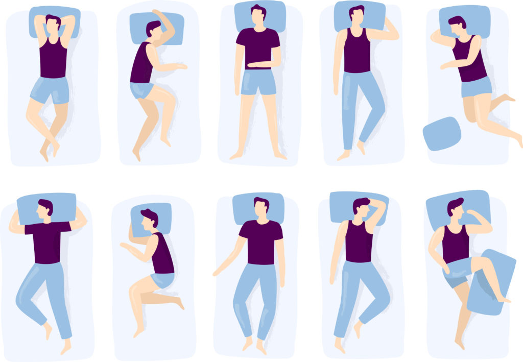 sleeping positions