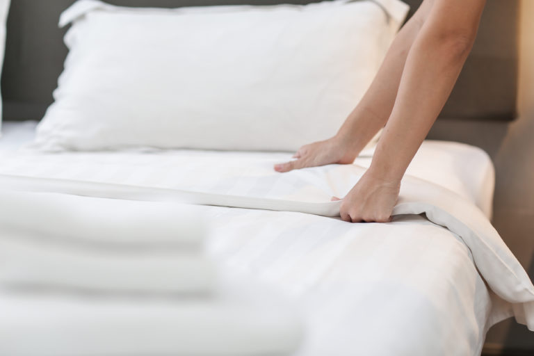 best way to make your bed