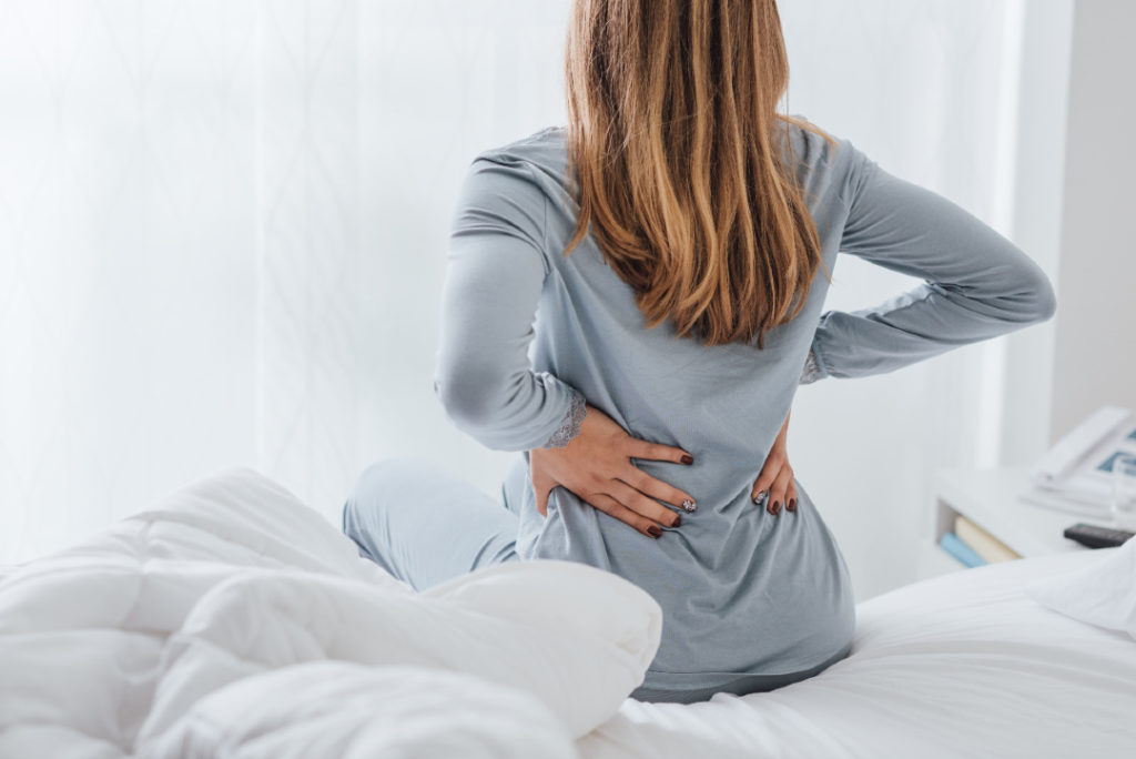sleep with back pain