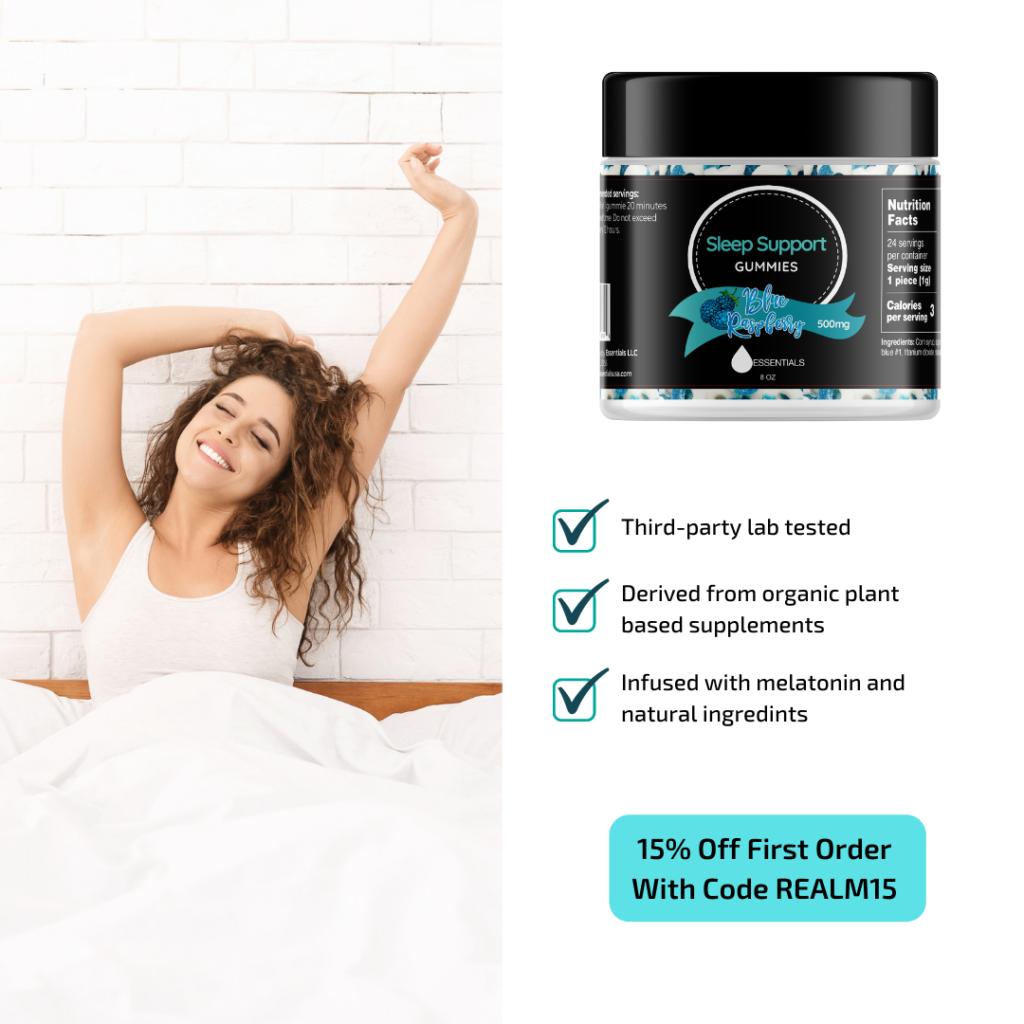 Essentials Sleep Support Gummies: The Restful Sleep You Deserve Every Night 2