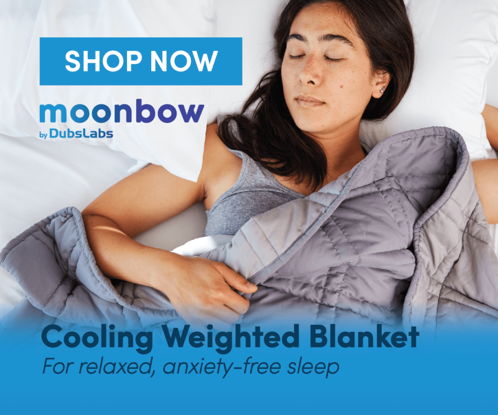 Cooling Weighted Blanket for Relaxed, Anxiety-Free Sleep