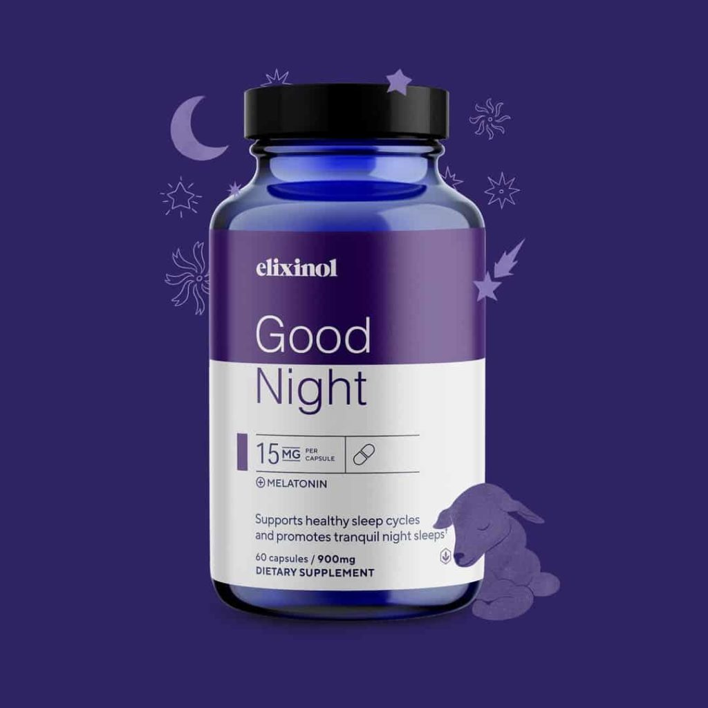 Elixinol Good Night Capsules: The Natural Sleep Support for Better Nights