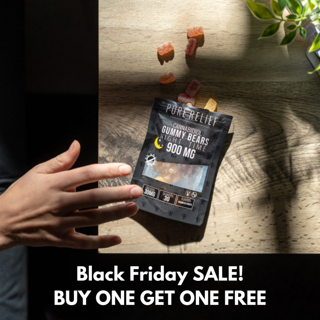 Pure Relief – Nighttime Gummies Black Friday Sale