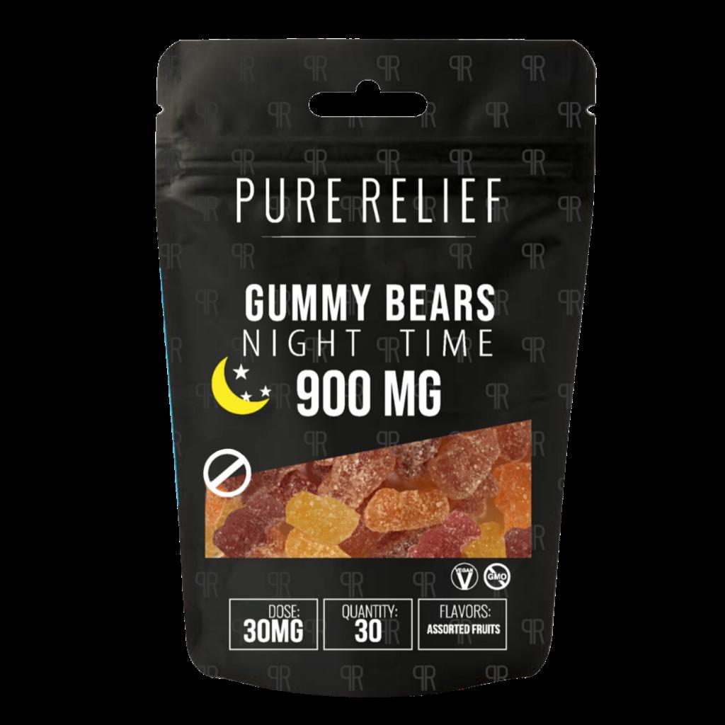 Pure Relief Nighttime Melatonin Gummies