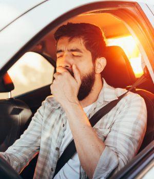 stay awake while driving